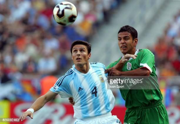 Javier ZANETTI / Jaime LOZANO Argentine / Mexique 1/2 Finale Coupe des Confederations