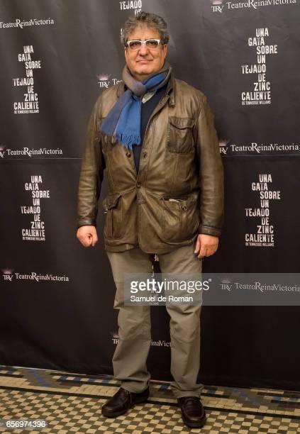 Javivi attends 'Una Gata Sobre Un Tejado de Zinc Caliente' Madrid Premiere on March 23 2017 in Madrid Spain