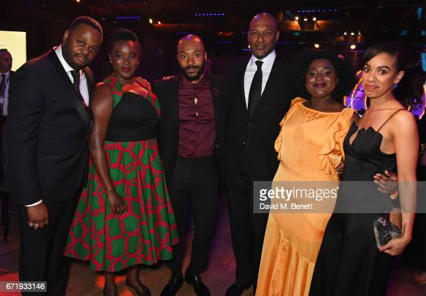 Javone Prince Wunmi Mosaku Arinze Kene Colin Salmon Susan Wokoma and Pearl Mackie attend the British Academy Television Craft Awards at The Brewery...