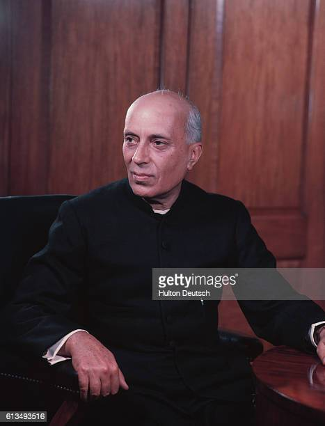Jawaharlal Nehru the first Prime Minister of India after the country gained independence from Britain in 1947