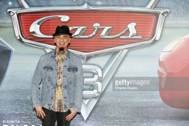 Ax attends a photocall for Cars 3 at Hotel Parco Dei Principi on July 12 2017 in Rome Italy