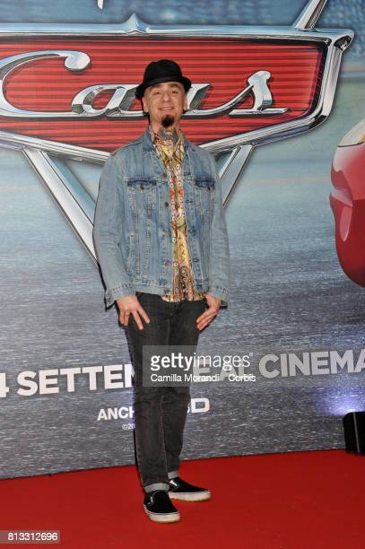 Ax attends a photocall for Cars 3 on July 12 2017 in Rome Italy