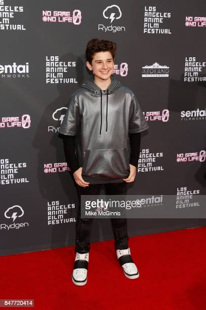 Jax Malcolm attends the Los Angeles Anime Film Festival at The Regal LA Live Stadium 14 on September 15 2017 in Los Angeles California