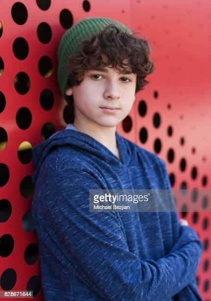 Jax Malcolm poses for portrait at The Artists Project on August 9 2017 in Los Angeles California