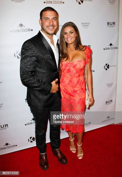 Jax Taylor and Brittany Cartwright attend Kyle Chan's 3rd annual #LOVECAMPAIGN Party at SUR Lounge on June 27 2017 in Los Angeles California