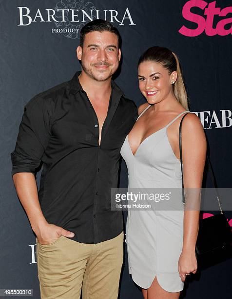 Jax Taylor and Brittany Cartwright attend Star Magazine's Scene Stealers party at W Hollywood on October 22 2015 in Hollywood California
