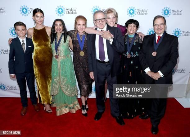 Jaxon Hibler Lily Aldridge Followill World of Children Celebrity Ambassador Honorary Chair Meghan Pasricha Arwa J Damon Harry Leibowitz World of...