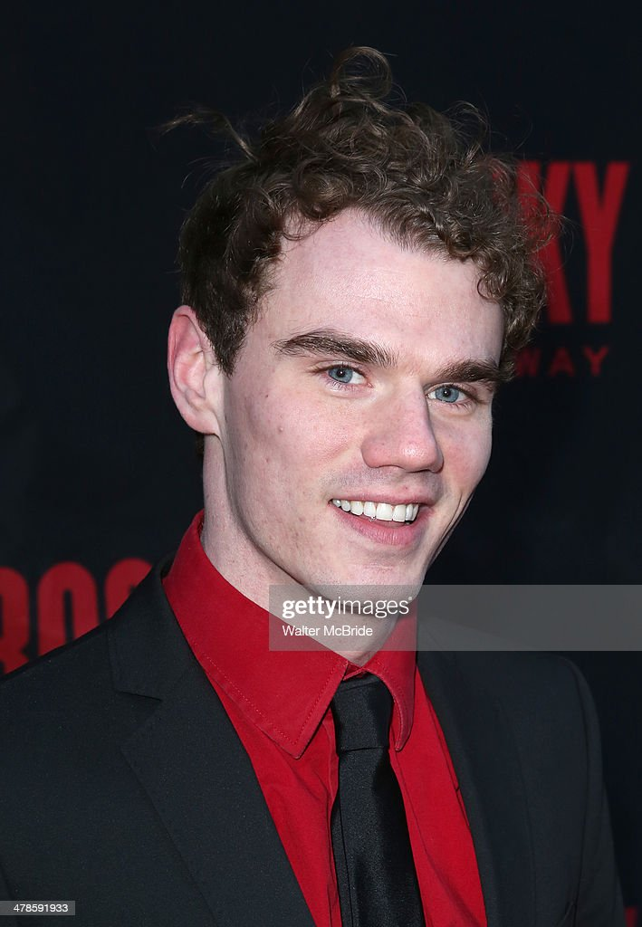 Jay Armstrong Johnson attends the 'Rocky' Broadway Opening Night at Winter Garden Theatre on March 13, 2014 in New York City.