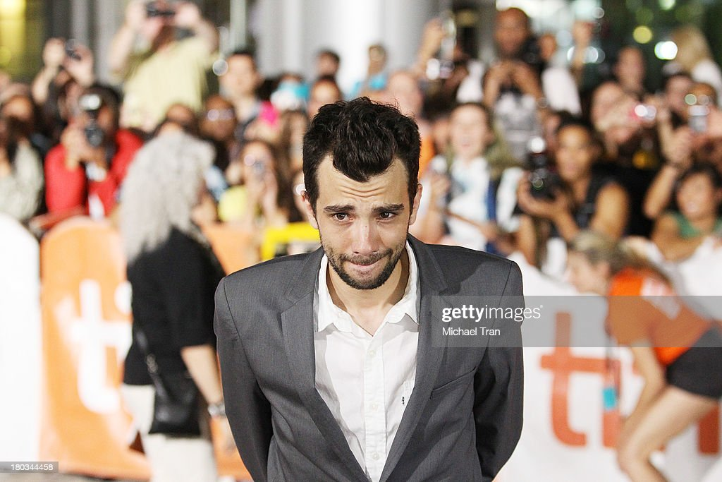 Jay Baruchel arrives at 'The Art Of The Steal' premiere during the 2013 Toronto International Film Festival held at Roy Thomson Hall on September 11...