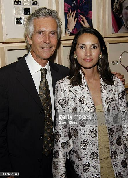 Jay Bauer and Nina Bauer Shapiro during Museum of Arts and Design Presents Centennial Retrospective of Seaman Schepps at Museum of Arts and Design in...