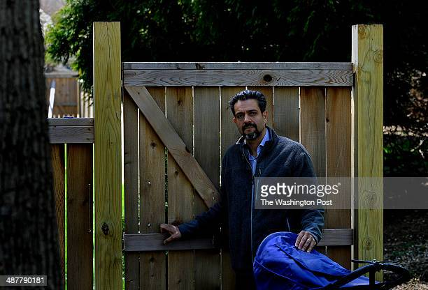 Jay Bhatt was fined by Montgomery County for rebuilding his back fence near the Capitol Crescent Trail He's caught up in the dispute between those...