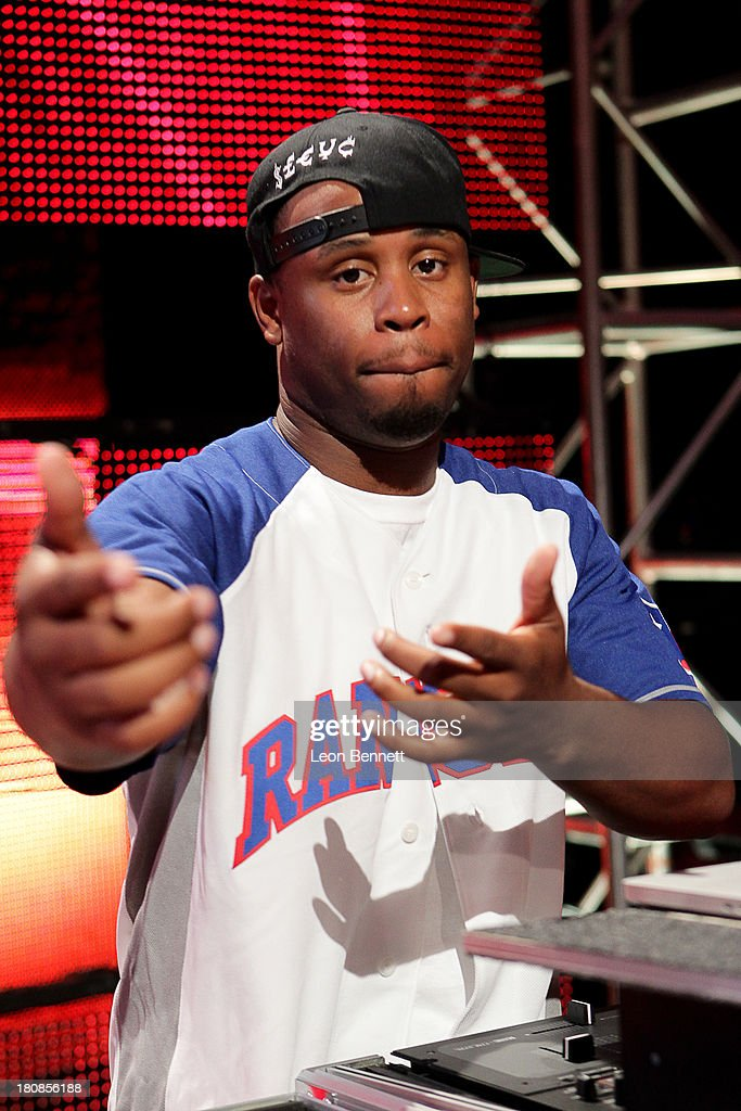 DJ Jay Bling attends the Ball Up 'Search For the Next' Tour Celebrity Game at Megafest on August 31, 2013 in Dallas, United States.