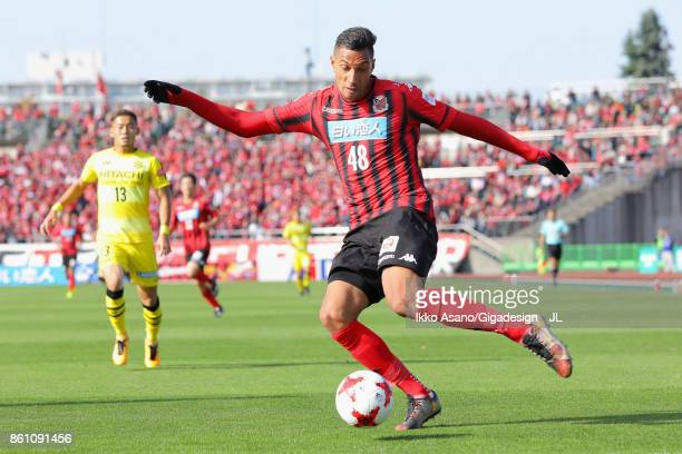 Jay Bothroyd of Consadole Sapporo in action during the JLeague J1 match between Consadole Sapporo and Kashiwa Reysol at Sapporo Atsubetsu Stadium on...