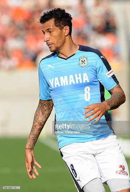 Jay Bothroyd of Jubilo Iwata in action during the JLeague second division match between Omiya Ardija and Jubilo Iwata at Nack 5 Stadium Omiya on May...