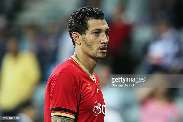 Jay Bothroyd of Muangthong United looks dejected following the AFC Champions League playoff match between the Melbourne Victory and Muangthong United...
