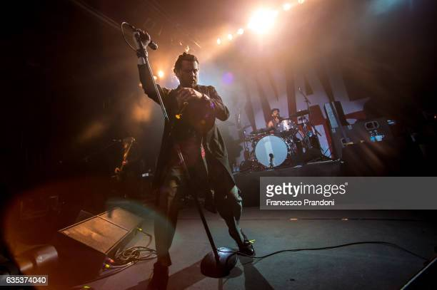 Jay Buchanan of Rival Sons Performs In Milan on February 14 2017 in Milan Italy