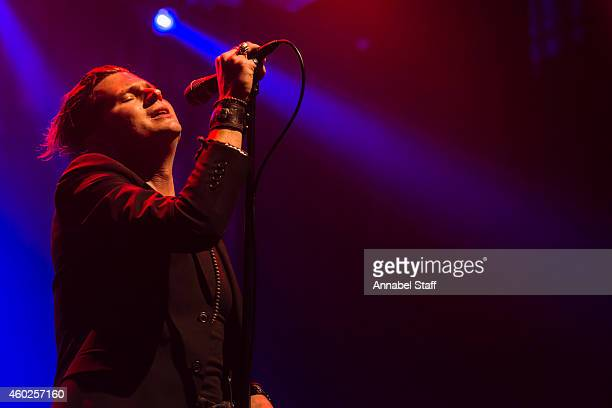 Jay Buchanan of Rival Sons performs on stage at The Forum on December 10 2014 in London United Kingdom