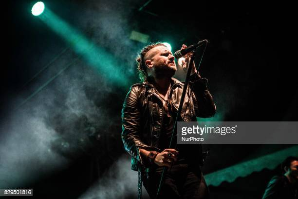 Jay Buchanan of the american blues rock band Rival Sons performing live at Carroponte Milan Italy