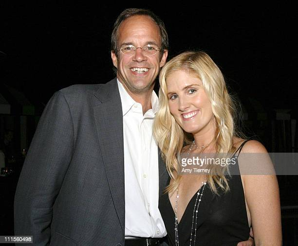 Jay Carlile and Mary Alice Haney GQ style editor during Banyan Productions' 'Ambush MakeOver' Premiere and After Party in Los Angeles California...