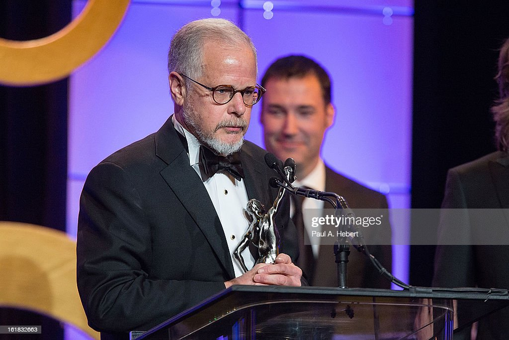 Jay Cassidy, A.C.E. receives the award for Best Edited Feature Film (Comedy or Musical) for his work on 'Silver Linings Playbook' during the 63rd Annual ACE Eddie Awards held at The Beverly Hilton Hotel on February 16, 2013 in Beverly Hills, California.