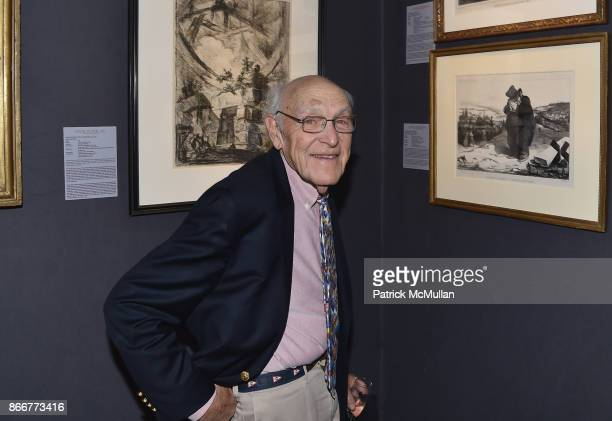 Jay Castle attends the IFPDA Fine Art Print Fair Opening Preview at The Jacob K Javits Convention Center on October 25 2017 in New York City