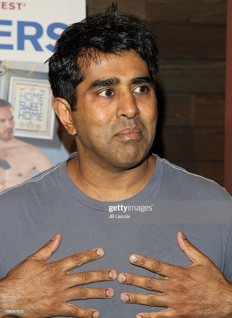 Jay Chandrasekhar attends the 'Freeloaders' Premiere held at Sundance Cinema on January 7 2013 in Los Angeles California