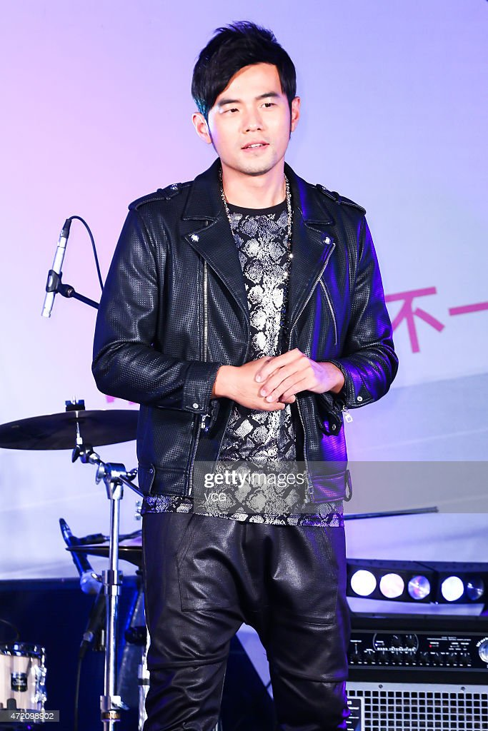 <a gi-track='captionPersonalityLinkClicked' href=/galleries/search?phrase=Jay+Chou&family=editorial&specificpeople=697028 ng-click='$event.stopPropagation()'>Jay Chou</a> attends H.O.T. Interscholastic Original Music Competition on May 3, 2015 in Taipei, Taiwan of China.