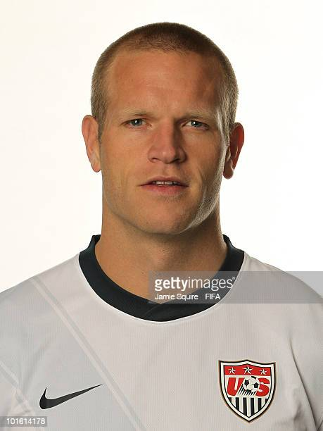 Jay DeMerit of USA poses during the official FIFA World Cup 2010 portrait session on June 3 2010 in Centurion South Africa