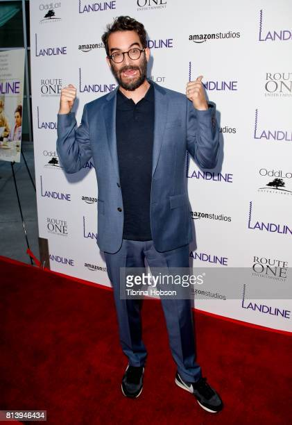 Jay Duplass attends the premiere of Amazon Studios 'Landline' at ArcLight Hollywood on July 12 2017 in Hollywood California