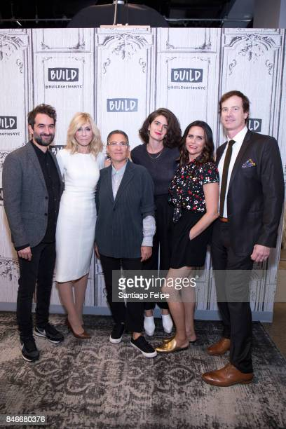 Jay Duplass Judith Light Jill Soloway Gaby Hoffmann Amy Landecker and Rob Huebel attend Build Presents to discuss 'Transparent' at Build Studio on...