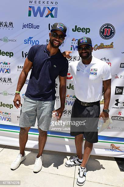 Jay Ellis and DJ Irie attends JEEP 11th Annual Celebrity Golf Tournament during The 11th Annual Irie Weekend at Miami Beach Golf Club on June 19 2015...
