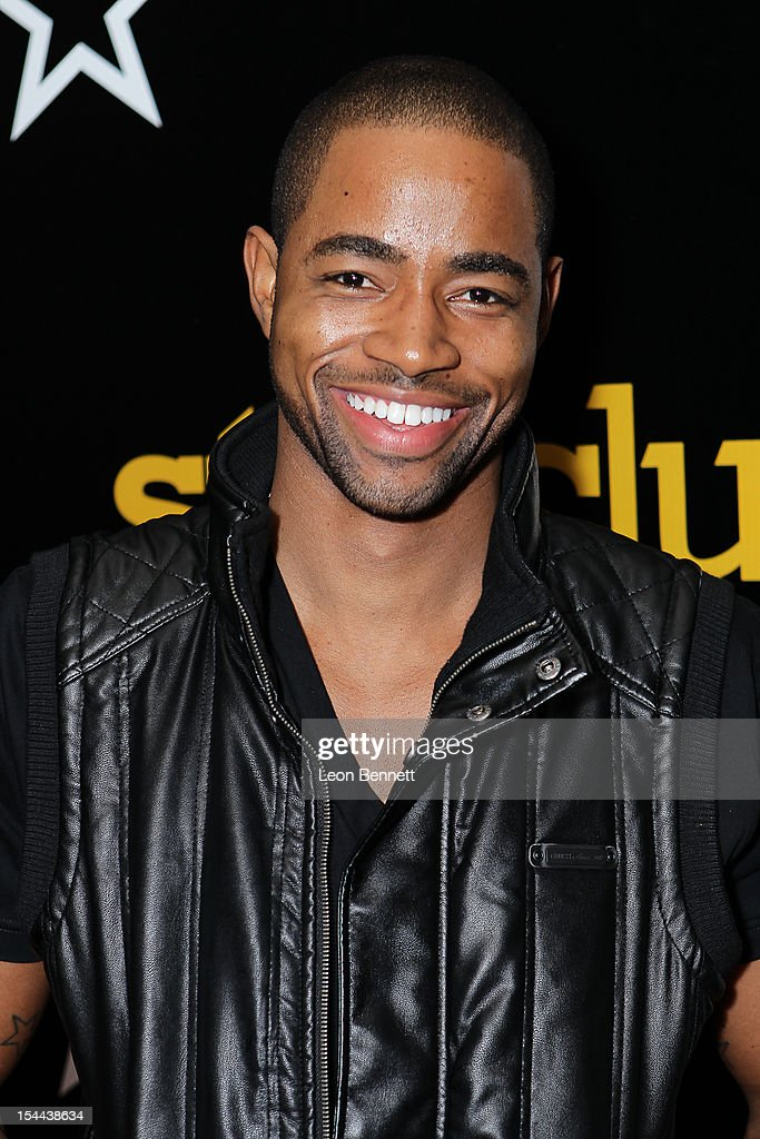 Jay Ellis arrives at the J. Cole Performs At Footaction's 'Own The Stage' Celebration at W Hollywood on October 19, 2012 in Hollywood, California.