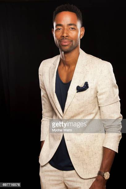 Jay Ellis Poses for a Portrait on Day 3 of the American Black Film Festival on June 14 2017 in Miami Florida