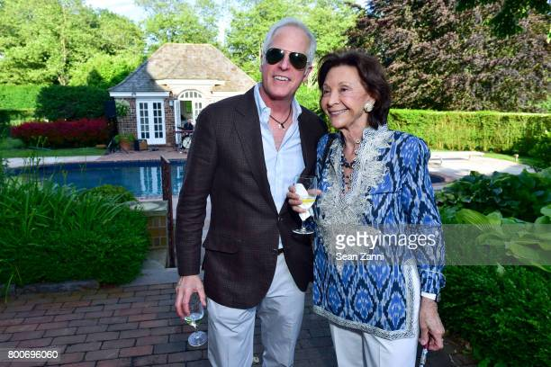 Jay Flagg and Barbara Takla attend Maison Gerard Presents Marino di Teana A Lifetime of Passion and Expression at Michael Bruno and Alexander...