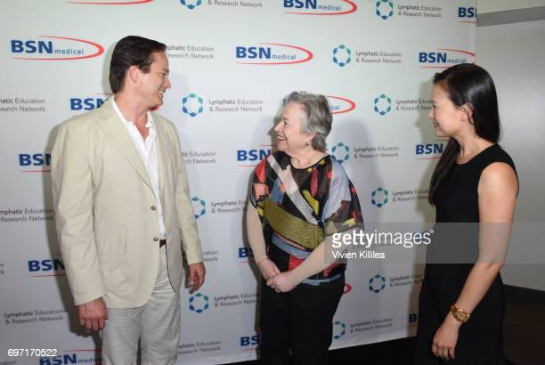 Jay Granzow Kathy Bates and Amy Granzow attend Academy Award Winner and LERN Spokesperson Kathy Bates Hosts Reception On The Eve Of The Third Annual...