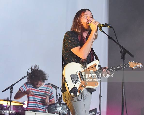 Jay 'Gumby' Watson and Kevin Parker of Tame Impala perform during day 3 of the 3rd Annual Shaky Knees Music Festival at Atlanta Central Park on May...