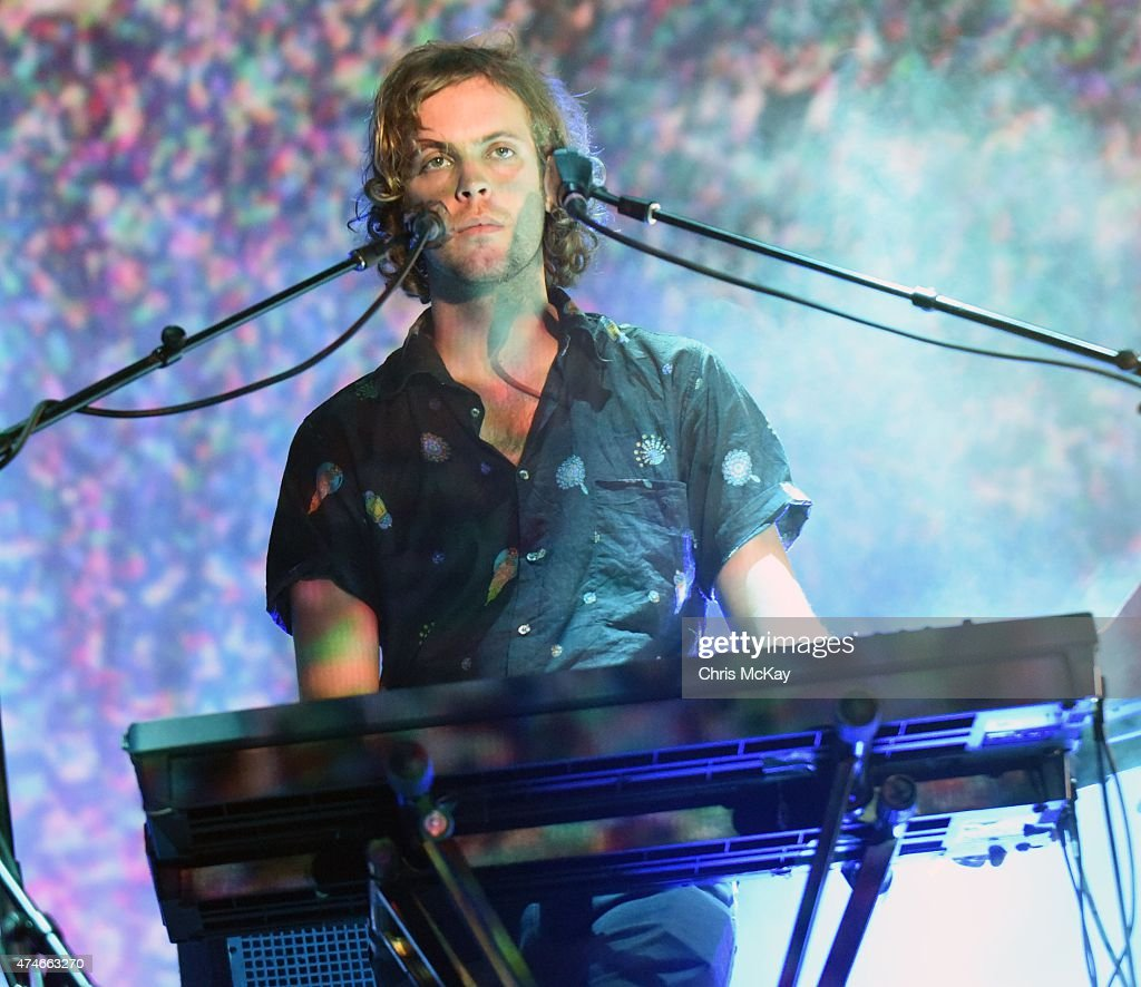 Jay 'Gumby' Watson of Tame Impala performs during day 3 of the 3rd Annual Shaky Knees Music Festival at Atlanta Central Park on May 10 2015 in...