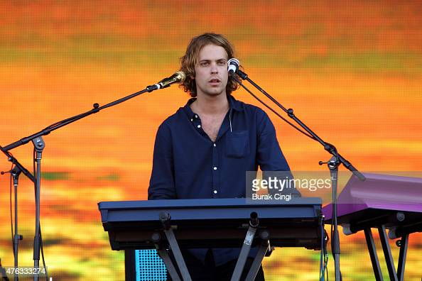 Jay 'Gumby' Watson of Tame Impala performs on day 3 of Governors Ball festival at Randall's Island Park on June 7 2015 in New York United States