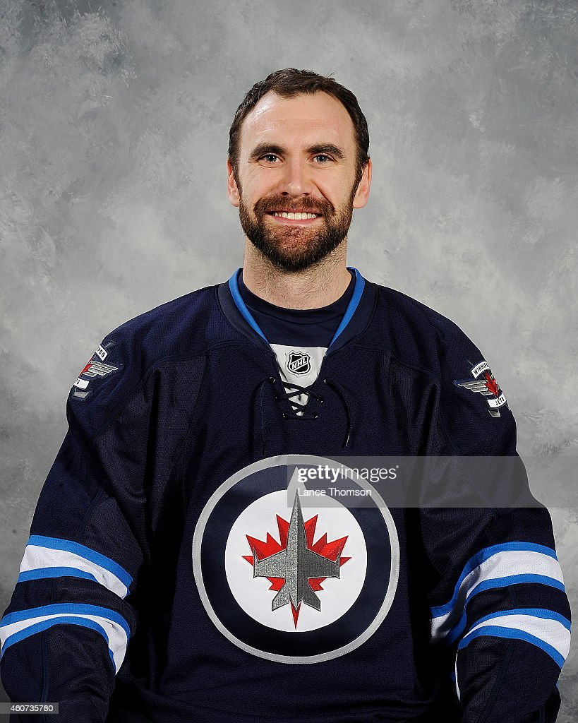 <a gi-track='captionPersonalityLinkClicked' href=/galleries/search?phrase=Jay+Harrison&family=editorial&specificpeople=714374 ng-click='$event.stopPropagation()'>Jay Harrison</a> of the Winnipeg Jets poses for his official headshot for the 2014-2015 season on December 20, 2014 at the MTS Centre in Winnipeg, Manitoba, Canada.