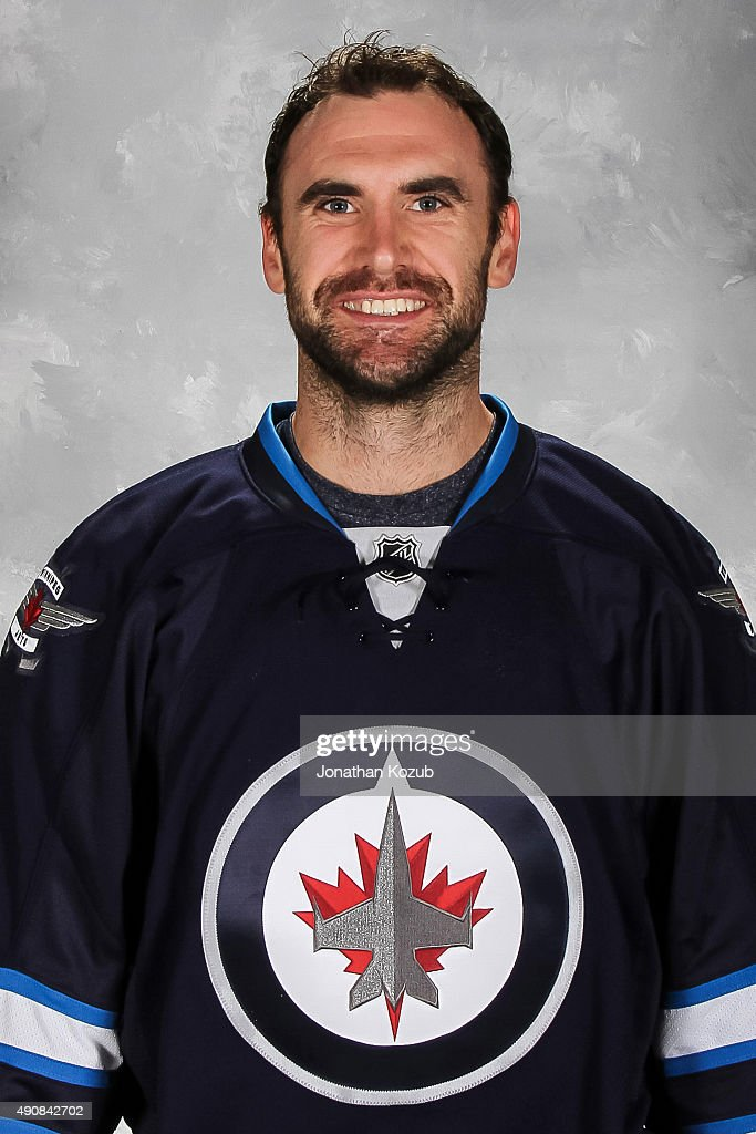 <a gi-track='captionPersonalityLinkClicked' href=/galleries/search?phrase=Jay+Harrison&family=editorial&specificpeople=714374 ng-click='$event.stopPropagation()'>Jay Harrison</a> of the Winnipeg Jets poses for his official headshot for the 2015-2016 season on September 17, 2015 at the MTS Centre in Winnipeg, Manitoba, Canada.