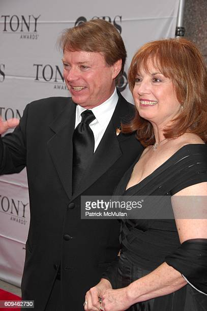 Jay Johnson and attend 60th annual TONY AWARDS red carpet arrivals at Radio City Music Hall NYC on June 10 2007 in New York City
