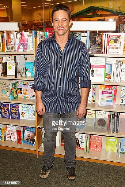 Jay Johnson arrives to the 'Days Of Our Lives' Book Launch Signing And Cast Meet Greet at Barnes Noble bookstore at The Grove on November 19 2010 in...