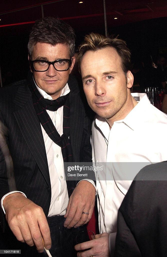 Jay Joplin And David Furnish, Pet Shop Boys Party At Infinity, Where Artist Sam Taylor, Wood Performed For The First Time Partnered By Russian Ballet Dancer Ivan Prutrov And Watched By Friends