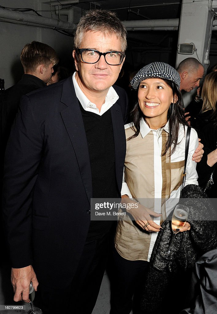 <a gi-track='captionPersonalityLinkClicked' href=/galleries/search?phrase=Jay+Jopling&family=editorial&specificpeople=217569 ng-click='$event.stopPropagation()'>Jay Jopling</a> (L) and Hikari Yokoyama attend the launch of artist Dinos Chapman's first album 'Luftbobler' at The Vinyl Factory on February 27, 2013 in London, England.