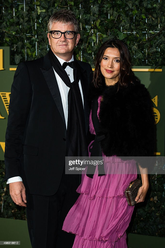 Jay Jopling and Hikari Yokoyamo attend the Evening Standard Theatre Awards at The Old Vic Theatre on November 22, 2015 in London, England.