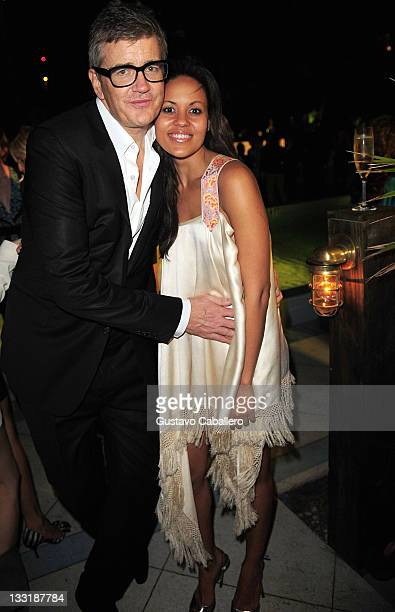 Jay Jopling and Rachel Barrett at Soho Beach House on November 30 2010 in Miami Beach Florida