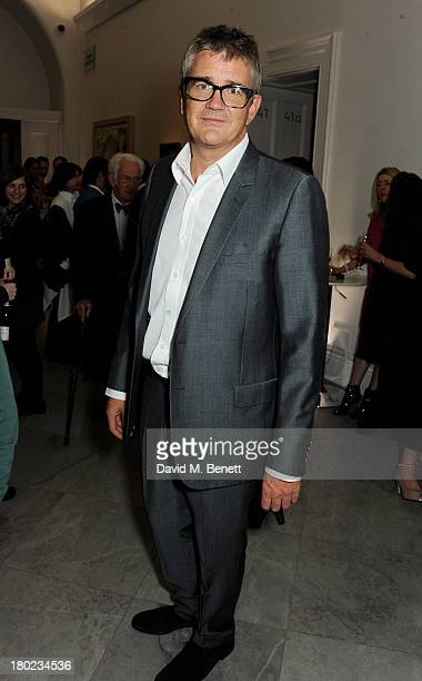 Jay Jopling attends a private view of 'Portraits' a new exhibition by Jonathan Yeo at the National Portrait Gallery on September 10 2013 in London...