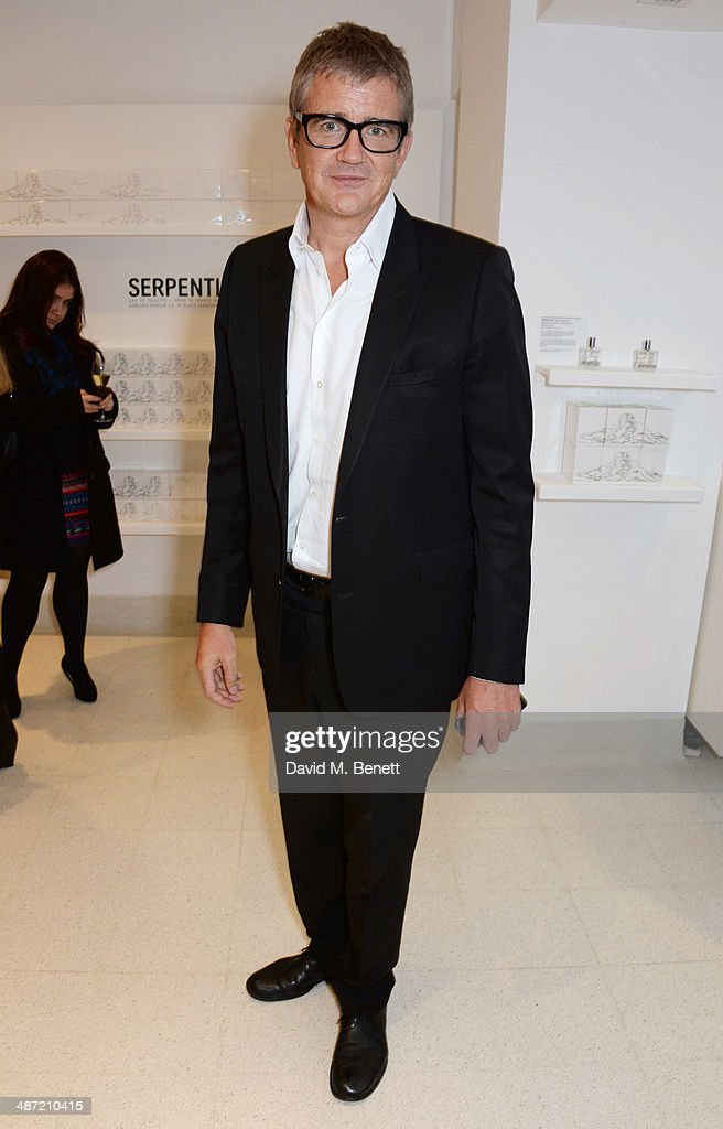 Jay Jopling attends the launch of 'Serpentine', a new fragrance by The Serpentine Gallery and fashion house Comme des Garcons featuring packaging artwork by Tracey Emin, at The Serpentine Gallery on April 28, 2014 in London, England.