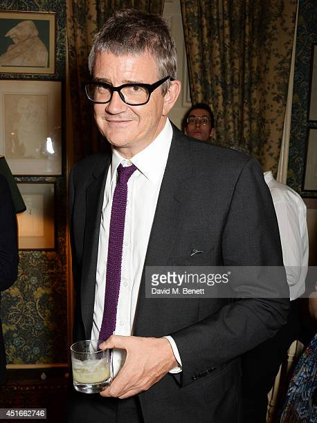 Jay Jopling attends Tracey Emin's birthday party at Mark's Club on July 3 2014 in London England