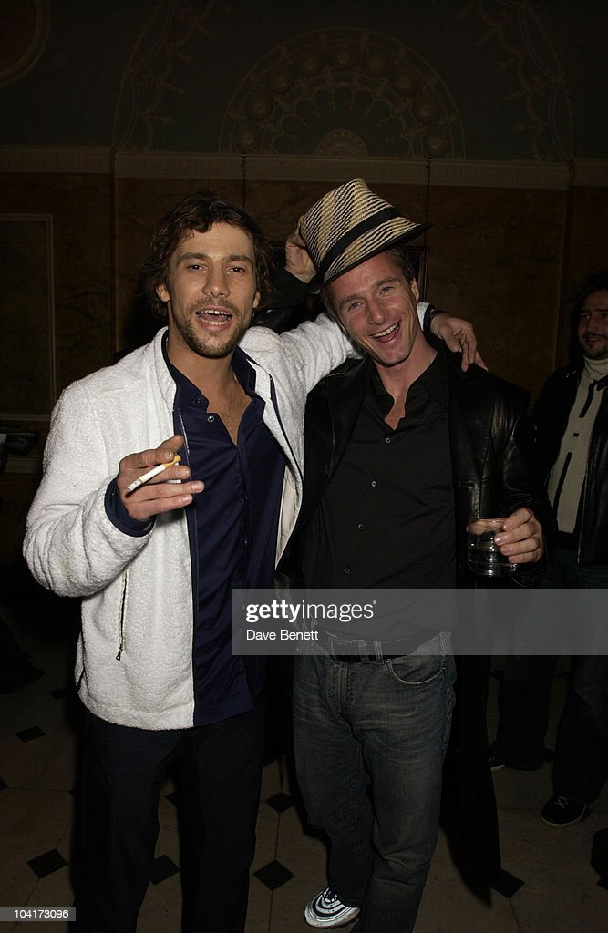 Jay Kay And Eddie Ervine, Almost Every Pop Group Turned Up At To Home House To Celebrate The Home Magazine, BMG Brits Party At Home House, London
